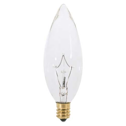 torpedo candelabra base - Decorative Light Bulbs