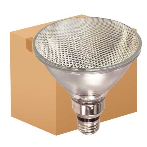 39W PAR38 HALOGEN FLOOD 120V (REPLACES 45W). CASE OF 30