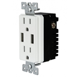 ULTRA HIGH SPEED USB CHARGER RECEPTACLE 24W 4.8A