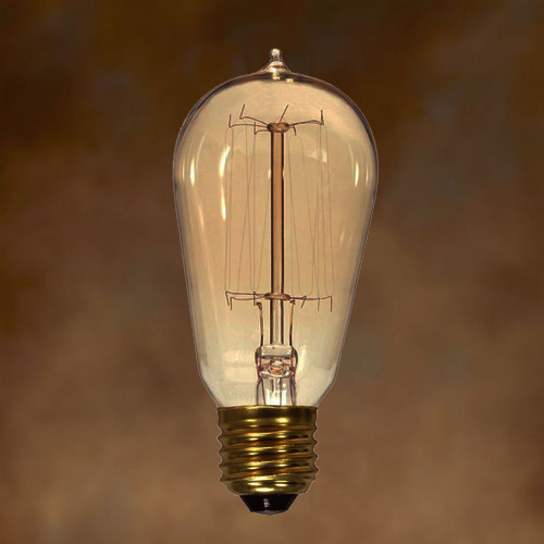 Newhouse Lighting 40w Equivalent Incandescent St19: SATCO S2413: $5.24 40ST19/CL/15S/Vintage: 40W ST19 VINTAGE