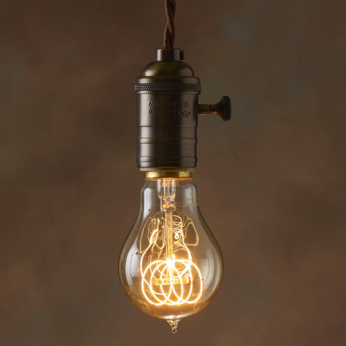 bulbrite 997 nos40victor 40w a19 vintage edison style light bulb with classic loop filament case of 6