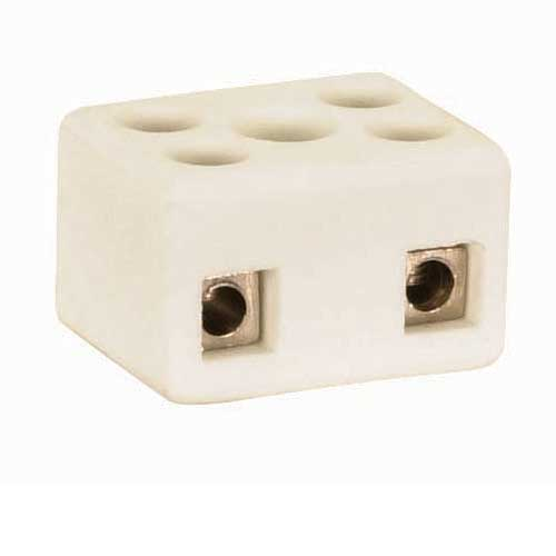 Porcelain 4 Terminal Wire Connector