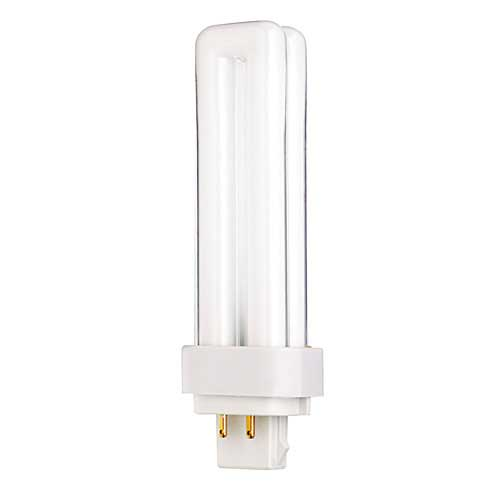Quad Tube CFL 4-Pin Double Biax