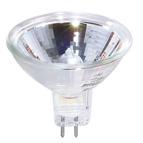 EPZ  50W MR16 13.8V GX5.3 BASE HALOGEN PROJECTOR LAMP. CASE OF 10