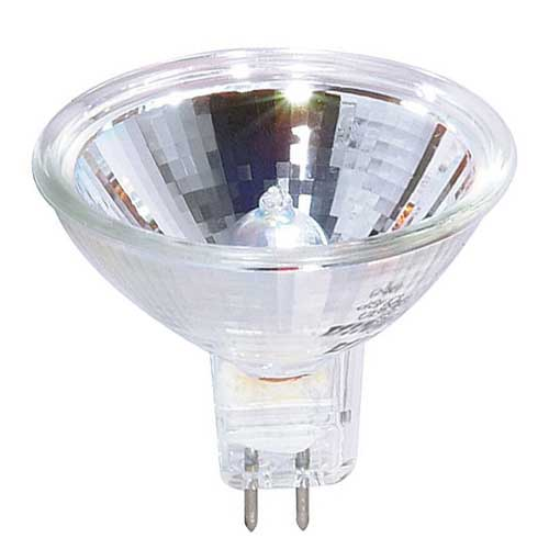 FMW/C  35W MR16 12V LENSED GU5.3 BASE HALOGEN FLOOD LAMP..