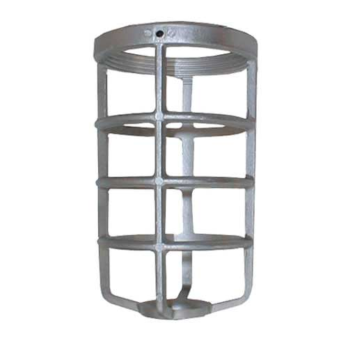 Guard for Vapor Proof Fixture - Cast Aluminum for Glass Only
