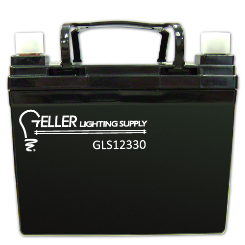 12V 33AH Emergency Light Battery