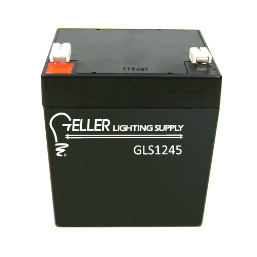12V 4.5AH Rechargeable Emergency Light Battery