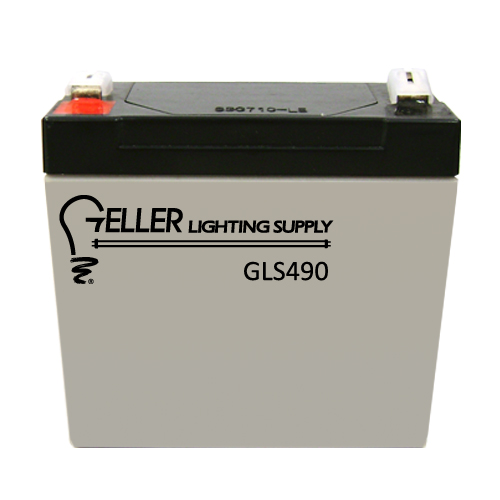4V 9AH Emergency Light Battery