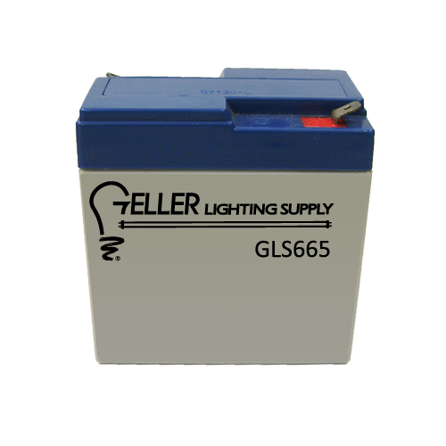6V 6.5AH Emergency Light Battery