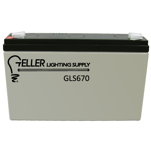 6V 7AH Emergency Light Battery
