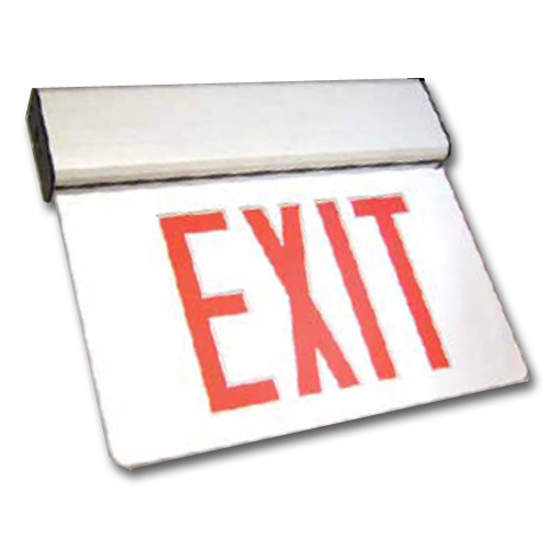 Aluminum LED Edgelit Exit Sign