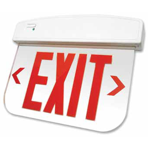 Thermoplastic LED Edgelit Exit Sign