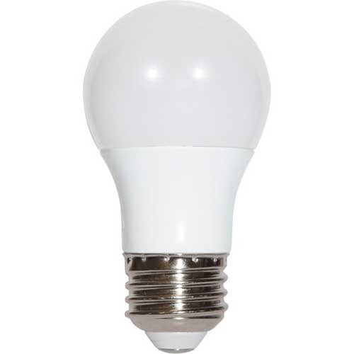 5.5W LED A15 HOUSEHOLD LIGHTBULB 3000K HIGH CRI DIMMABLE. CASE OF 6
