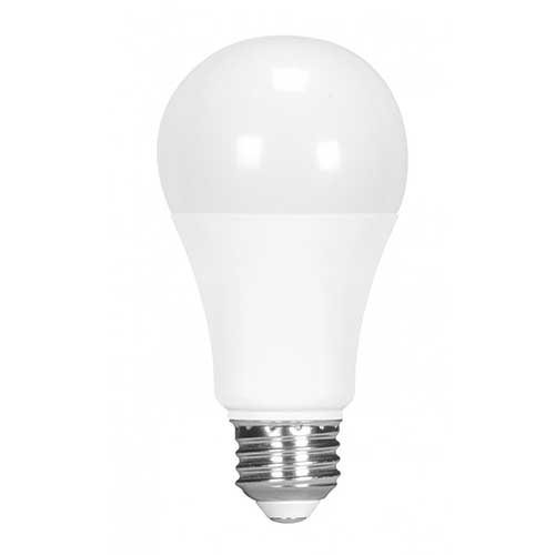 11.5W LED A19 HOUSEHOLD LIGHTBULB 3000K HIGH CRI DIMMABLE. CASE OF 6