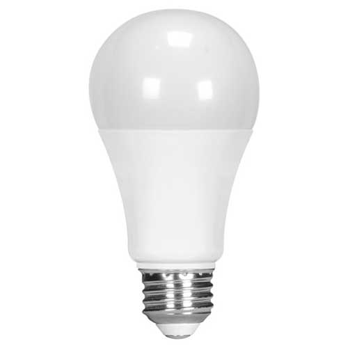 13W LED A19 HOUSEHOLD LIGHTBULB 4000K DIMMABLE HIGH CRI. CASE OF 6