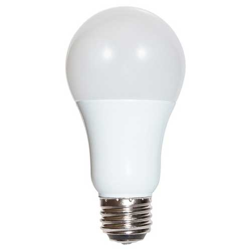 3 - 9 - 12W LED A19 3-WAY HOUSEHOLD BULB 4000K. CASE OF 6