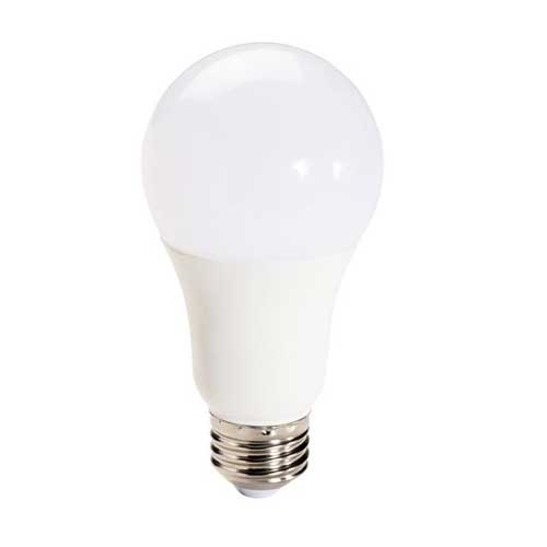 9W LED A19 HOUSEHOLD LIGHTBULB ECO SERIES 2700K DIMMABLE. CASE OF 16