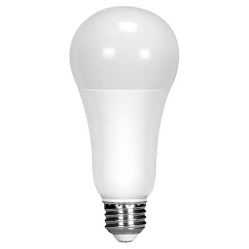 18W LED A21 HOUSEHOLD LIGHTBULB 5000K DIMMABLE HIGH CRI. CASE OF 6