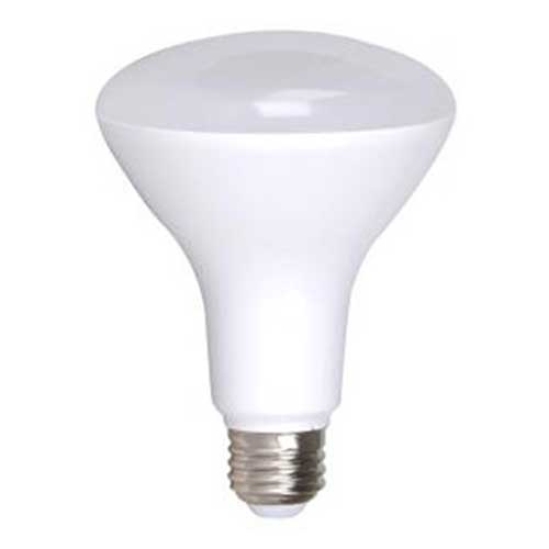 11W LED BR30 FLOOD MEDIUM BASE HIGH CRI 2700K. DIMMABLE. CASE OF 12