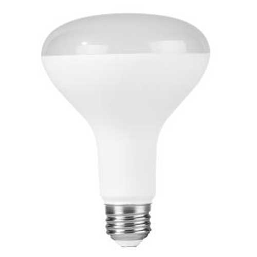 8W LED BR30 FLOOD MEDIUM BASE 3000K. DIMMABLE. CASE OF 12