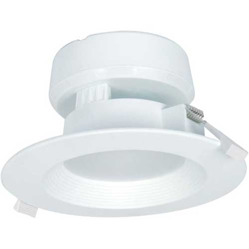 "7W LED 4"" DIRECT WIRE DOWNLIGHT 2700K DIMMABLE. CASE OF 6"