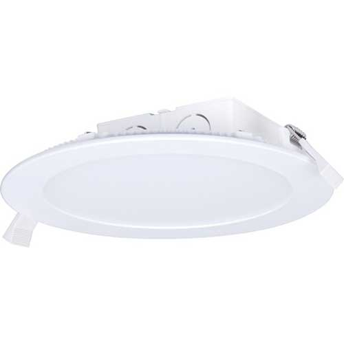 "11.6W LED 5-6"" DIRECT WIRE EDGE-LIT DOWNLIGHT 2700K DIMMABLE. CASE OF 6"