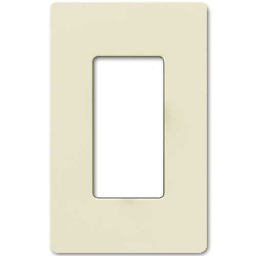 Claro Decorative Single Gang Face Plate - Almond Color
