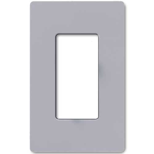 Claro Decorative Single Gang Face Plate - Gray Color