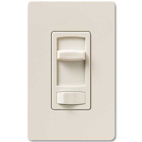 Skylark Dimmer For Dimmable LED And Fluorescents - Single Pole / 3-Way - Light Almond Color