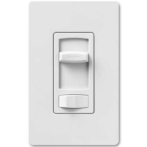 Skylark Dimmer For Dimmable LED And Fluorescents - Single Pole / 3-Way - White Color