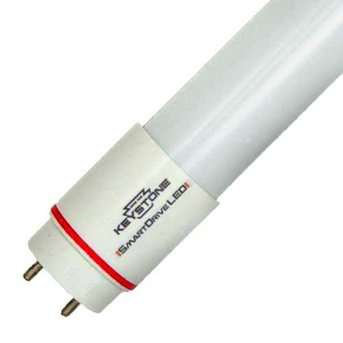 "24"" 9W LED T8 TUBE. 220° BEAM 3000K DIRECT REPLACEMENT. CASE OF 25"