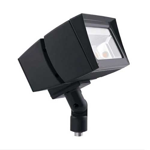 39W LED Flood Light Fixture - 5100K - Outdoor Rated - Bronze Housing