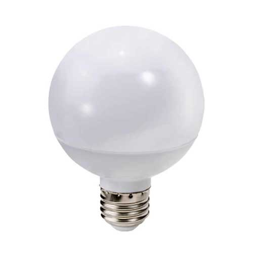 6W LED G25 FROSTED GLOBE 2700K DIMMABLE. CASE OF 15