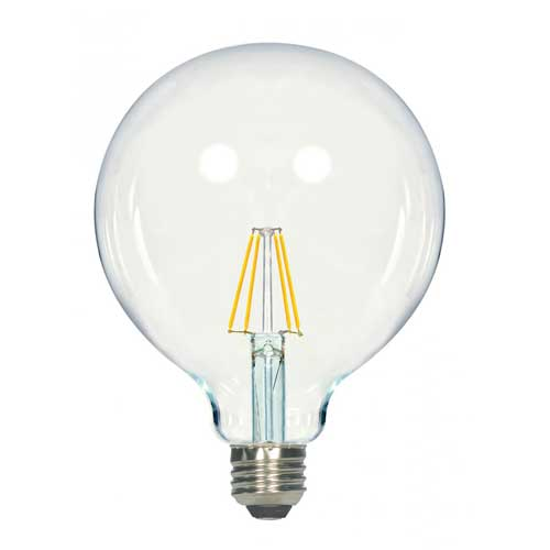 4.5W LED G40 VINTAGE FILAMENT STYLE GLOBE LIGHT 2700K DIMMABLE