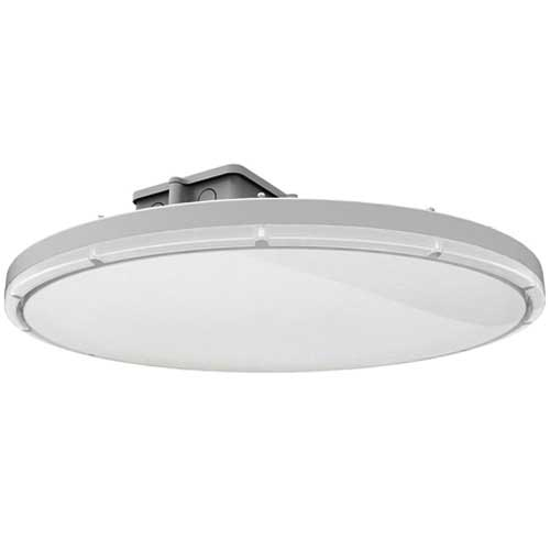 133W LED FROSTED HIGHBAY FIXTURE. REPLACES 400W METAL HALIDE. WHITE FINISH  5000K.. Design Lights Consortium