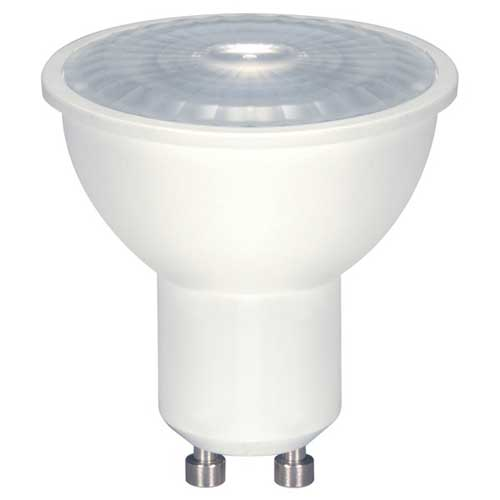 6.5W LED MR16 FLOOD LIGHT 4000K DIMMABLE GU10 TWIST LOCK BASE. CASE OF 6