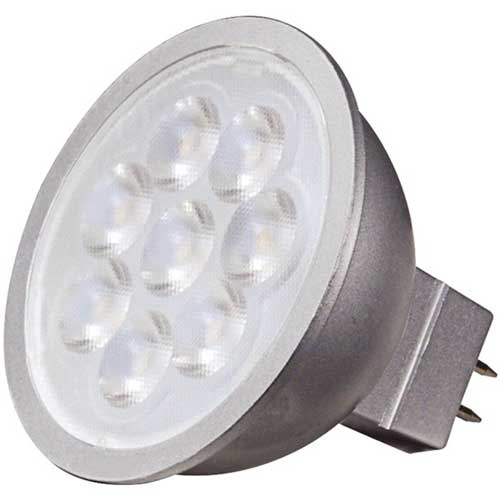 6.5W LED MR16 NARROW 12V FLOOD LIGHT 4000K DIMMABLE
