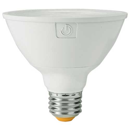 13W LED PAR30 SHORT NECK BULB. HIGH CRI 2700K 40° BEAM DIMMABLE