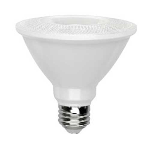 11W LED PAR30 SHORT NECK NARROW FLOOD MEDIUM BASE 30° BEAM 3000K DIMMABLE. CASE OF 24