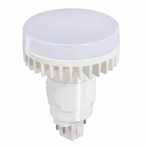 12W LED 4-PIN CFL REPLACEMENT VERTICAL PL-TYPE BULB 2700K DIMMABLE. CASE OF 10