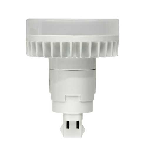 12W LED CFL DIRECT REPLACEMENT PL-TYPE BULB 4-PIN G24Q BASE 3500K. VERTICAL USE ONLY. CASE OF 10