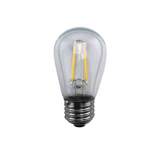 2W LED S14 CLEAR SIGN BULB MEDIUM BASE 2700K