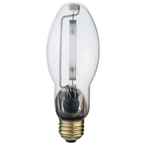 35W HIGH PRESSURE SODIUM CLEAR MEDIUM BASE LAMP. CASE OF 12