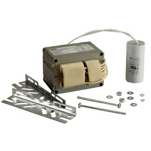 175W METAL HALIDE BALLAST KIT. 5-TAP. 120 THRU 480V