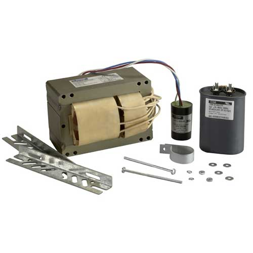 1000W PULSE START METAL HALIDE BALLAST KIT. 5-TAP. 120 THRU 277V..