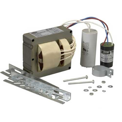 250W PULSE START METAL HALIDE BALLAST KIT. 5-TAP. 120 THRU 480V