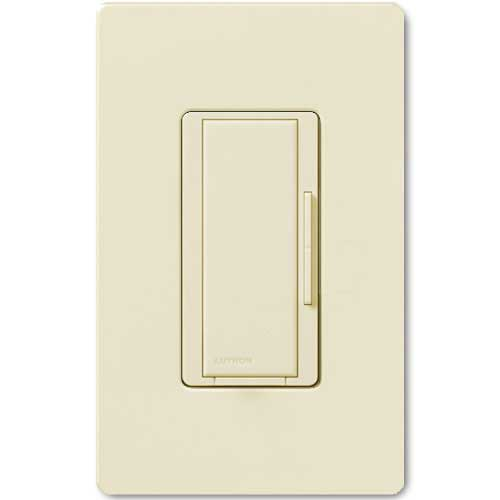 Maestro 277V Smart Remote Dimmer. Use w/ Maestro Multi-location DV Wireless Dimmers. Almond