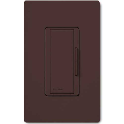 Maestro 277V Smart Remote Dimmer. Use w/ Maestro Multi-location DV Wireless Dimmers. Brown