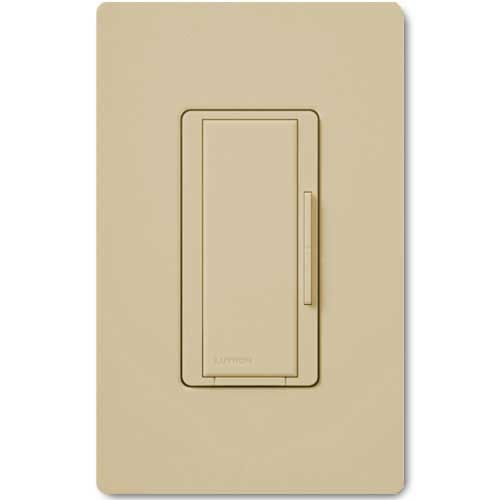 Maestro 277V Smart Remote Dimmer. Use w/ Maestro Multi-location DV Wireless Dimmers. Ivory